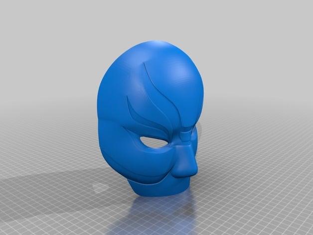 Big Hero 6 Yokai Mask Wearable By Jsc Thingiverse