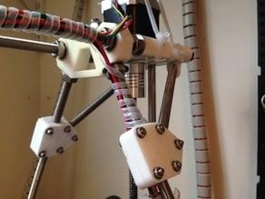 Unobtrusive frame brace