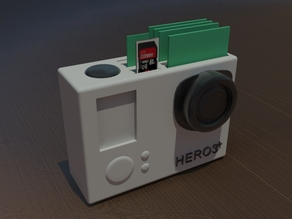 GOPRO SD CARD HOLDER