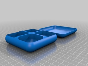 Small Parts & Screws Box with Lid/Tray