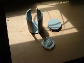 Coin Holder for 10 1-ounce Silver Coins