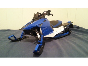 RC Yamaha Sr Viper 1/6 Modding Parts