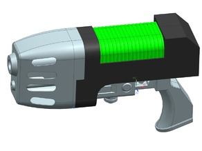 40k Plasma Pistol V1