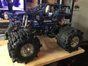 clod buster / axial wraith project reworked