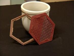 Coaster weave and base