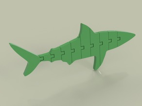 Flexi Articulated Shark