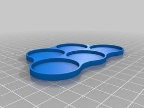 AOS movement tray (5 x 32 mm)