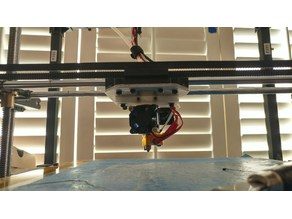 E3D v6 Hotend Mount for Rigidbot conversion to Bowden-extruder, with inductive-sensor option