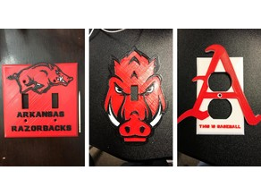 Arkansas Razorback Switch/Outlet Covers