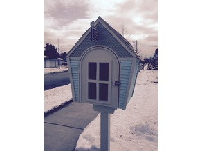 Little Free Library - Scale Siding / Hanging Sign
