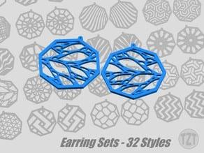 Earring Sets - 32 Styles, Jewelry, Pendant, Wearable