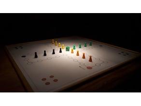 Enlarged Standard Board Game Figure