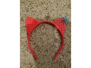 Animal Ear Kids Headband - Block Compatible