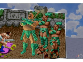 Bald guy from Golden axe.