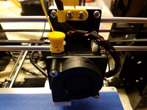 Anet A8 Ergonomic Retained Extruder Release Button