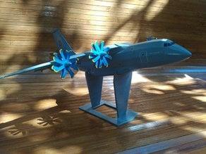 Antonov An-70 (low poly)