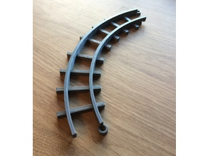 90 degree track bend (20mm)