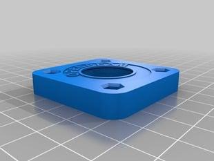 Printable 608 to NEMA17 Bearing Adaper for OpenBeam