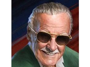 Stan Lee Lithophane Marvel