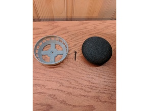 Google Home Mini Wall Mount (Screw or Double Sided Tape)