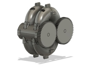 Toroidal Opposed Piston Engine