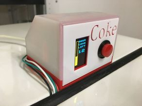 Coke machine level detector