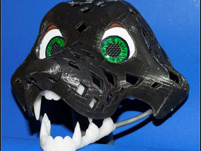 Fursuit- or puppet-head base - version 25
