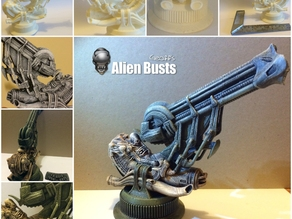 Alien Jockey Commemorative Bust / Model