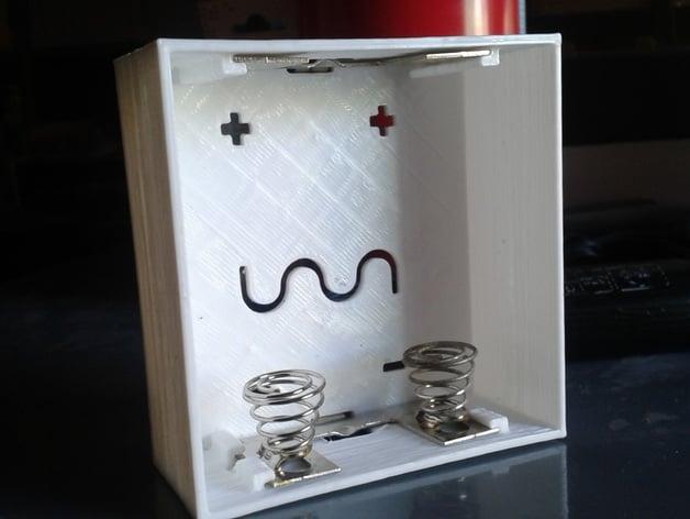 lr20 battery holder for junkers water heater by julijustris thingiverse. Black Bedroom Furniture Sets. Home Design Ideas
