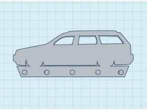 VW Passat 35i Key Rack