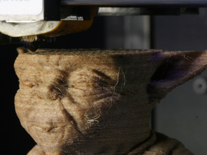 EPIC Timelapse Video of Wood Filament Printed Yoda w/Gcode