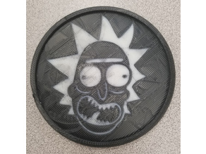 Rick and Morty Coasters