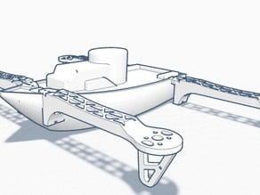Drone -Boat (flying boat)
