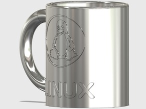 Linux Coffee Mug with Tux