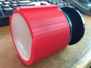 Nikon F-Mount to Ground Glass Adapter