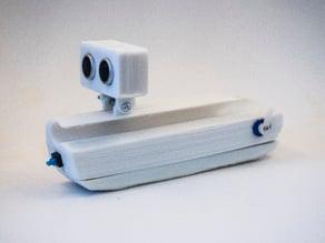 Gabinete: 1º prototipo Auxiliar Electrónico para la Navegación de Ciegos y Disminuidos visuales