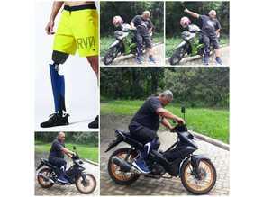 CRE-011 SkyWalker Leg Prosthesis - iDIG (Integrated Digital Design Laboratory), Department of Industrial Design  ITS Indonesia