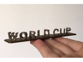 world cup france 3D illusion