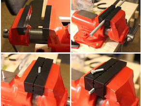 Jaw Inserts for bench vice[vise] YORK 80