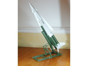 Launcher Display Stand for Nike Hercules Missile