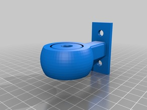 YAFG - yet another customizable Filament Guide (with screw holes)