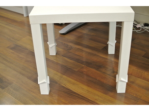 Lack table extender