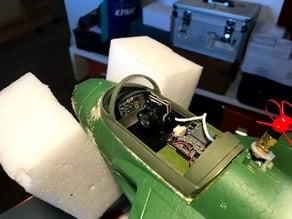 Freewing Lippisch P.15 Cockpit