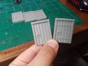 Wooden Doors (more coming)