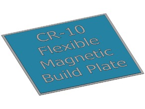 CR-10 Flexible Magnetic Build Plate DIY