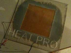 heat pro repman heater for preventing warping.