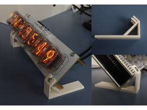 """Stands for """"GRA & AFCH"""" NCT412 Nixie Clock"""