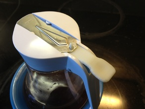 Syrup Pitcher handle