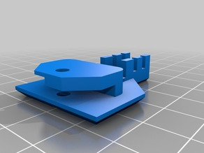 RAISCUBE PRUSA Bed Wires Holder