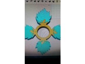 Super Sayian Goku Fidget Spinner